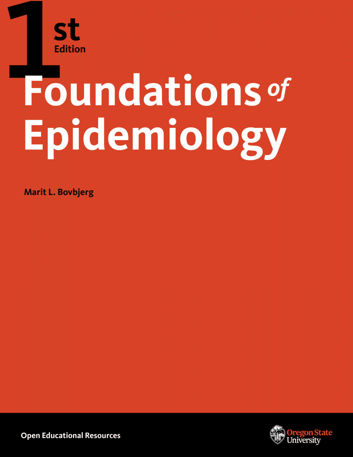 Cover image for Foundations of Epidemiology