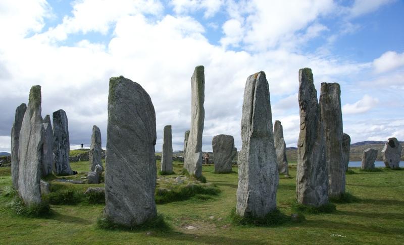 Calanais Standing Stones, Isle of Lewis, Scotland.
