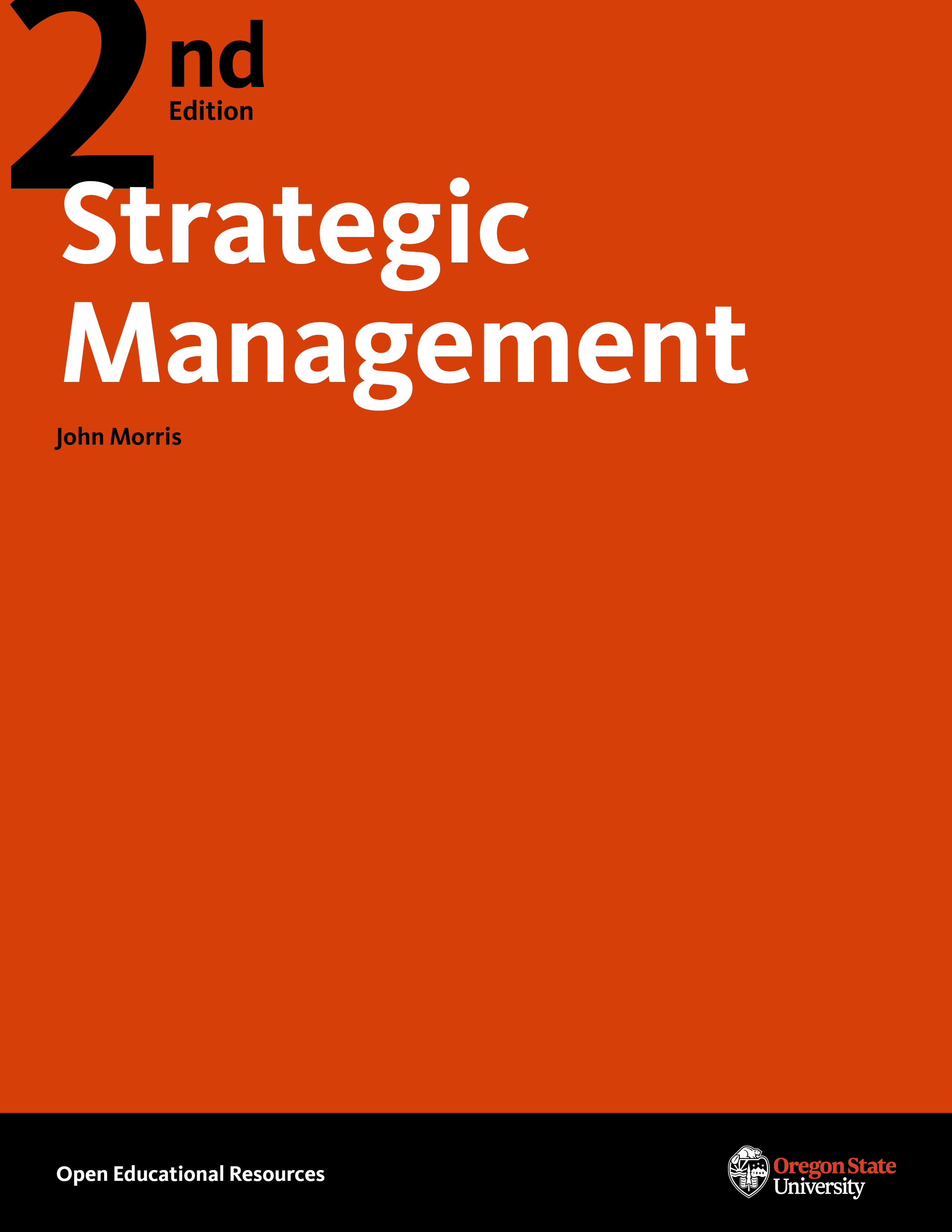 Cover image for Strategic Management 2E