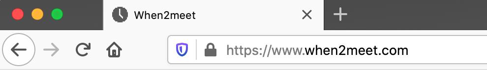 HTTPS, encrypted.