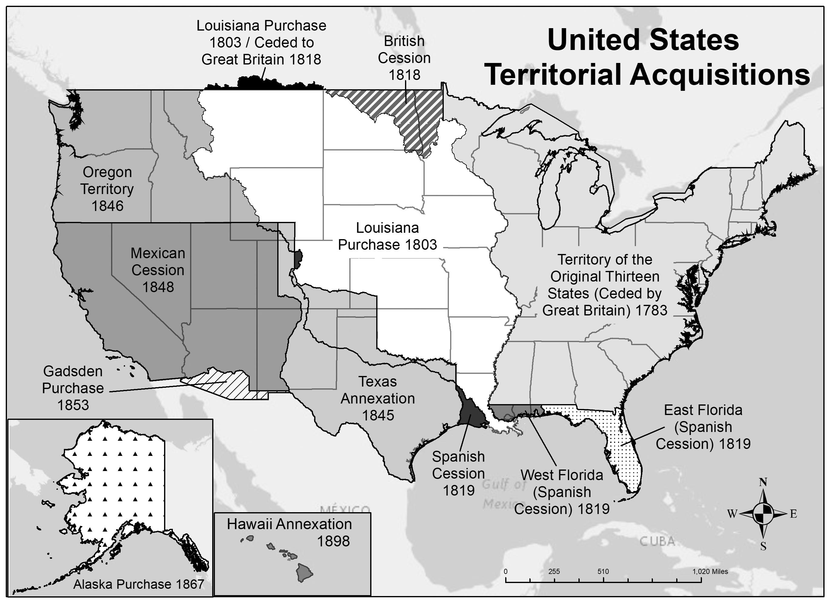 US territorial acquisitions.