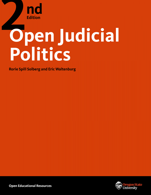 Cover image for Open Judicial Politics
