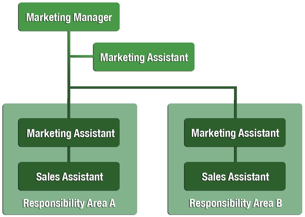 Example of Marketing Department Organization Chart