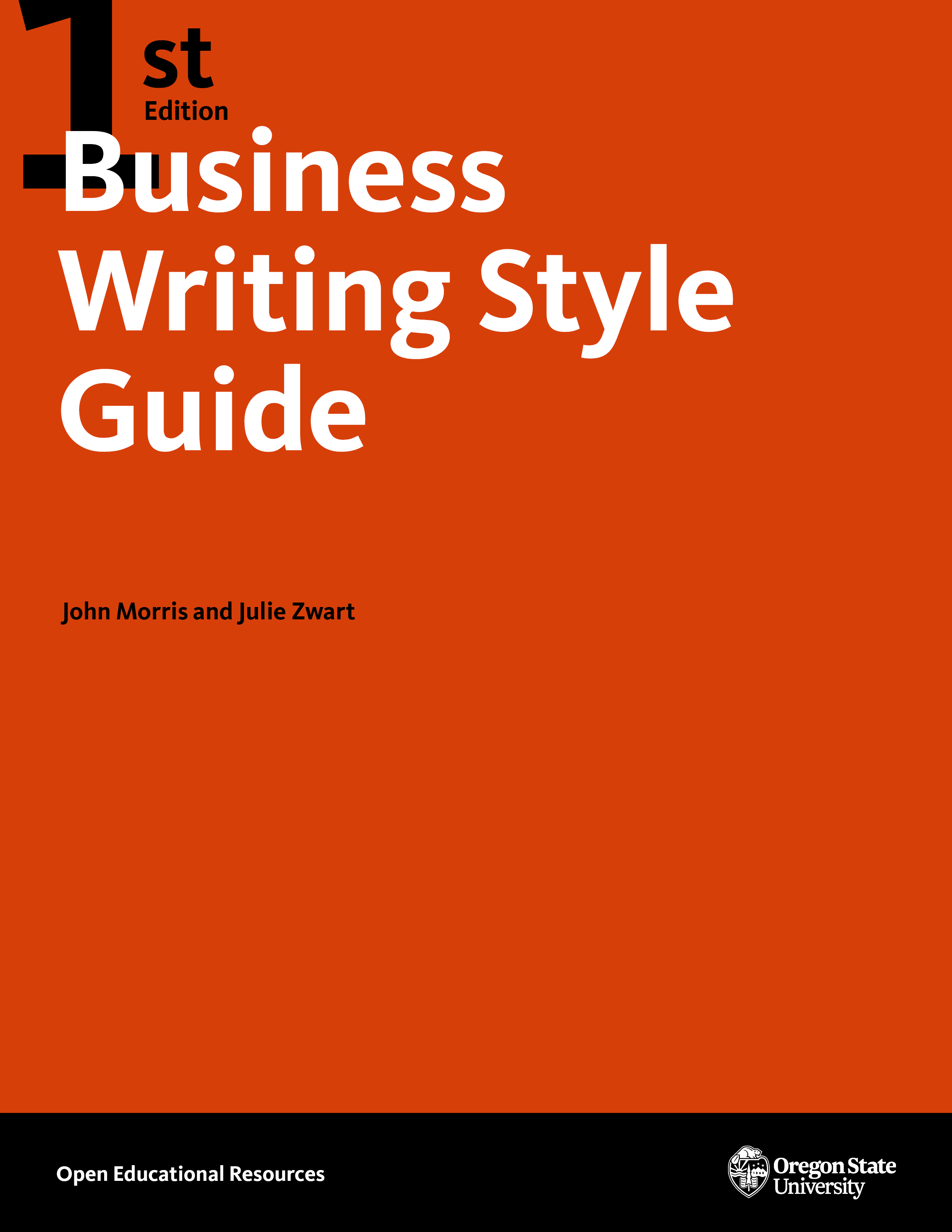 Cover image for Business Writing Style Guide