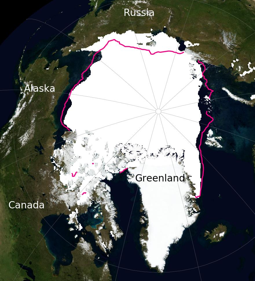 Arctic Sea Ice September 1979
