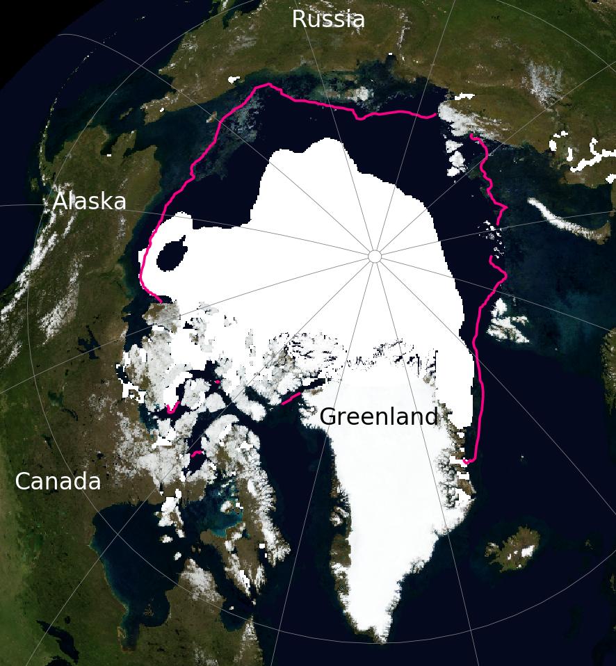 Arctic Sea Ice September 2020