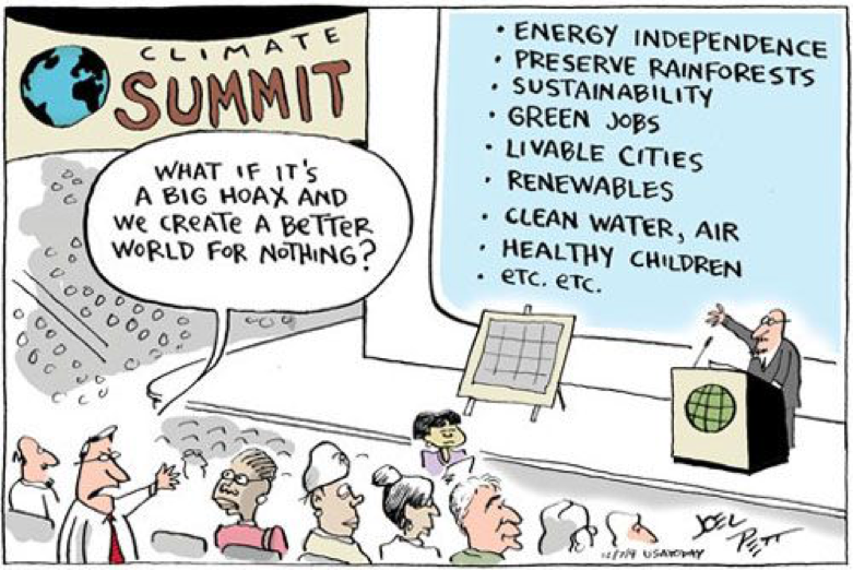 Cartoon from Joel Pett at Cartoon Arts International.