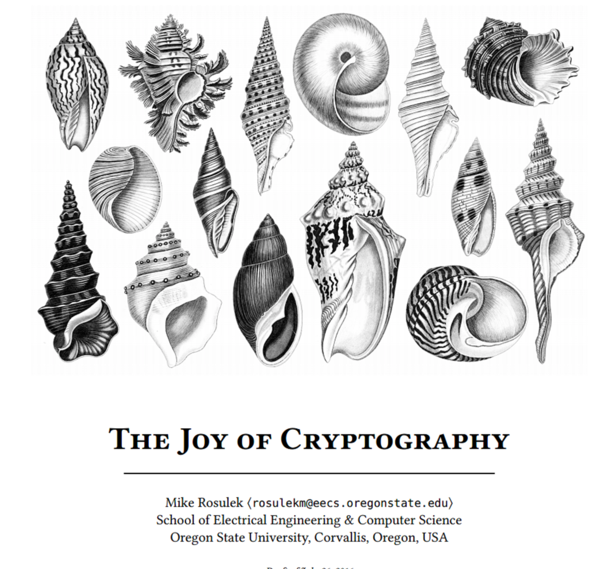 Cover image for The Joy of Cryptography