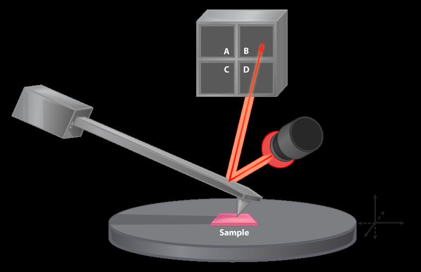 Atomic Force Microscope Mechanism.