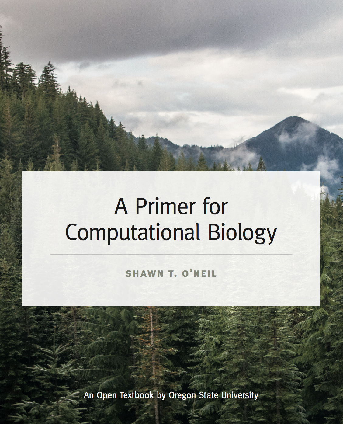 Cover image for A Primer for Computational Biology