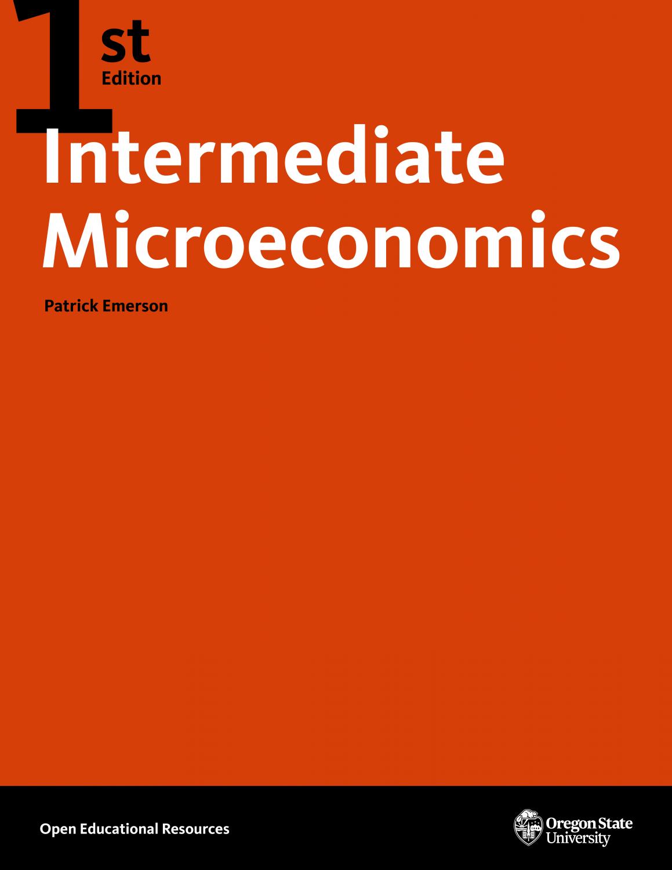 Cover image for Intermediate Microeconomics
