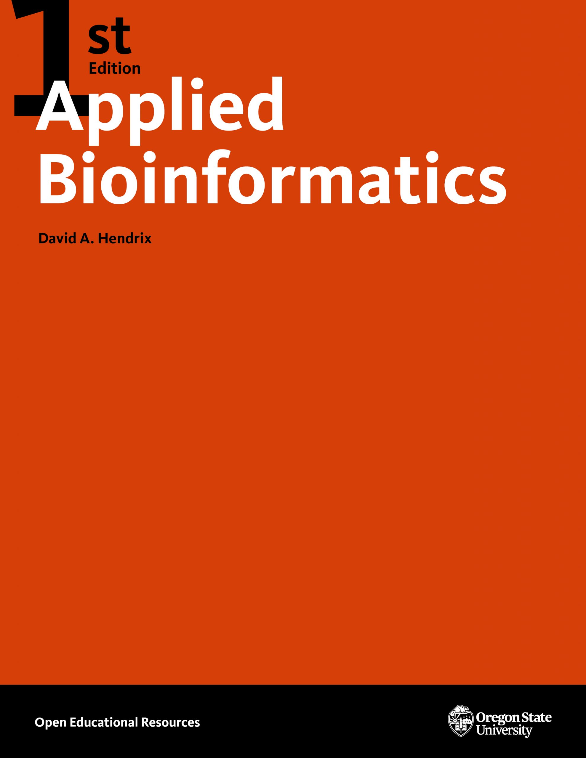 Cover image for Applied Bioinformatics