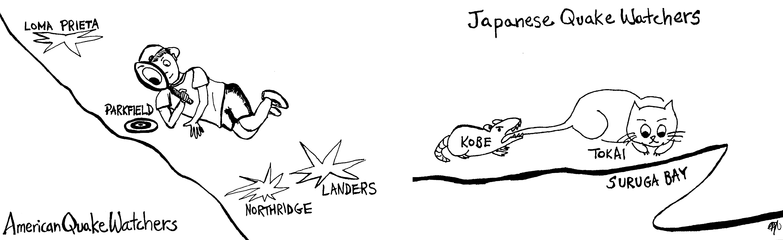 Cartoonist: Morika Tsujimura Figure 7-1. American and Japanese forecasting strategies, from Scholz (1997).