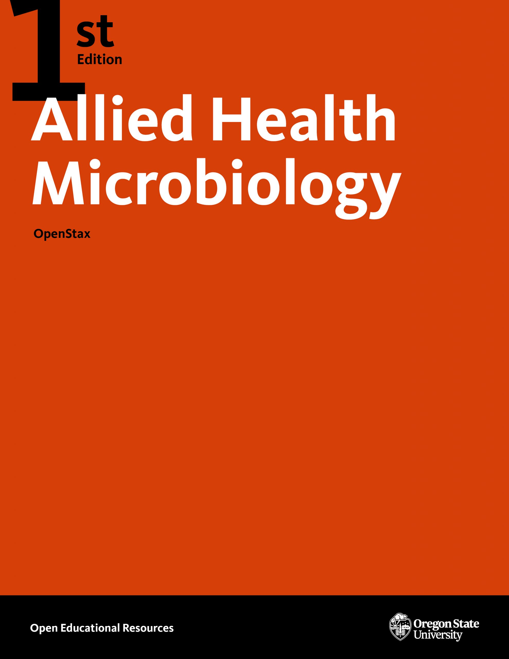 Cover image for Allied Health Microbiology