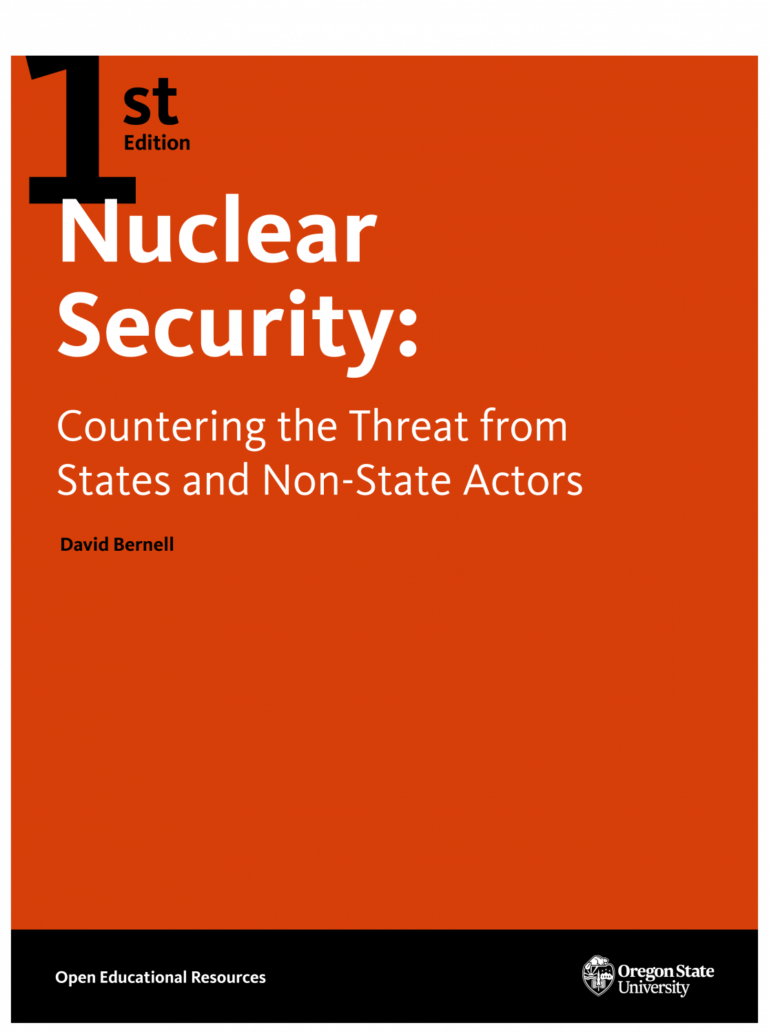 Cover image for Nuclear Security: Countering the Threat From States and Non-State Actors