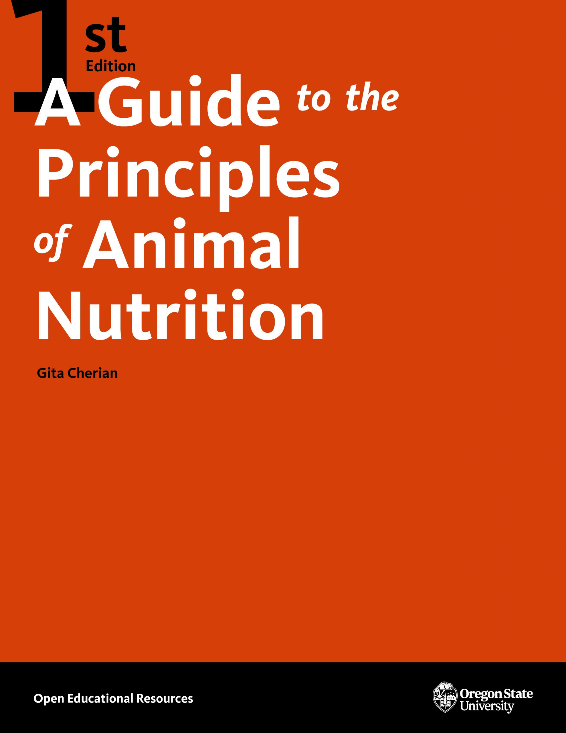 Cover image for A Guide to the Principles of Animal Nutrition